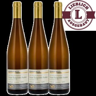 Weißwein Nahe Grauer Burgunder Weingut Roland Mees Kreuznacher Rosenberg Auslese lieblich (3 x 0, 75l)