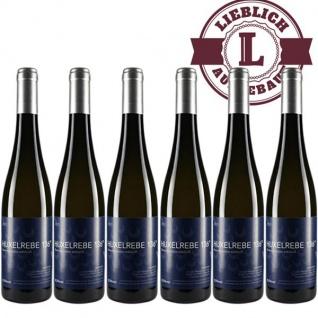 Weißwein Rheinhessen Huxelrebe Weingut Dackermann Beerenauslese 136° Süßwein (6 x 0, 5 l)