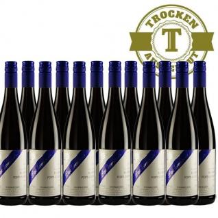 Rotwein Rheinhessen Blauer Portugieser Weingut Dackermann trocken (12 x 0, 75 l)