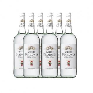 Weißer Rum White Diamonds 37, 5% Vol. (6x0, 7l)