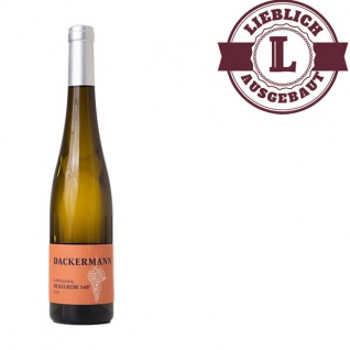 Weißwein Rheinhessen Huxelrebe Weingut Dackermann Beerenauslese 148° Süßwein (1 x 0, 5 l)