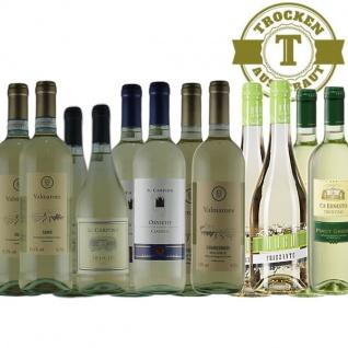 Weißwein Probierpaket maxi Italien trocken (12x0, 75l)
