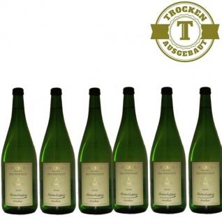 Weißwein Rheinhessen Gutsschoppen Weingut Becker trocken (6 x 1, 0 l)