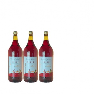 Rotwein Italien Cuvée Barone Gabrieli halbtrocken (3 x 2, 0l)