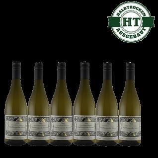 Weißwein Pfalz Weißburgunder Weingut Krieger Rhodter Rosengarten Kabinett halbtrocken (6 x 0, 75 L )