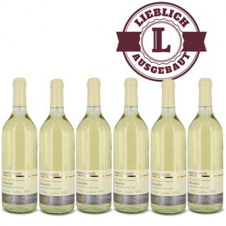 Weißwein Nahe Scheurebe Weingut Roland Mees Kreuznacher Rosenberg Qualitätswein lieblich (6 x 0, 75l)