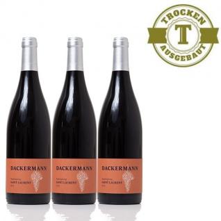 Rotwein Rheinhessen Weingut Dackermann Saint Laurent-S- trocken (3 x 0, 75 l)