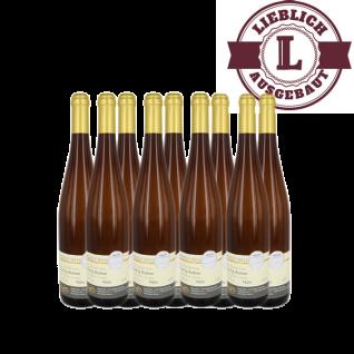 Weißwein Nahe Riesling Weingut Roland Mees Kreuznacher Paradies Auslese lieblich (6 x 0, 75l)