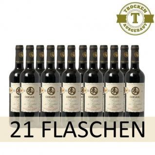 Rotwein Frankreich Cuvée Corsaire Reserve du President trocken (21 x 0, 75l)
