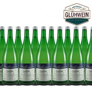 """Glühwein Weiß Weingut Dackermann """" Candidus"""" (12 x 1, 0l)"""