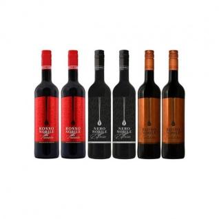 Rotwein Rosso Nobile all'Espresso, Rosso Cioccolata und Rosso Nocciola (6x0, 75)