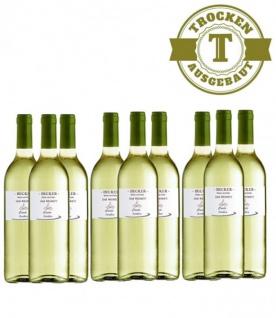 Weißwein Rheinhessen Weiß & Grau (er) Burgunder Weingut Becker trocken (9 x 0, 75 l)