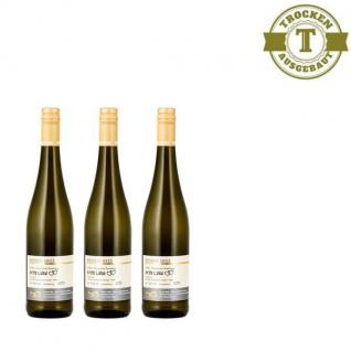 """Weißwein Nahe Weingut Roland Mees Kreuznacher Rosenberg Chardonnay trocken """" Erste Liebe"""" (3 x 0, 75l)"""