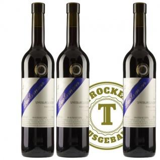Rotwein Weingut Dackermann Spätburgunder trocken 2015 (3 x 0, 75 l)