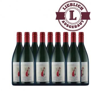 Weißwein Mosel Riesling Weingut Horst Sünner Winninger Weinhex Qualitätswein mild ( 9 x1, 0 l )