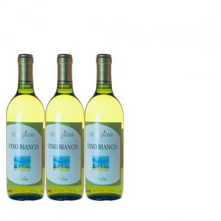 Weißwein Italien Cuvée trocken (3x0, 75l)