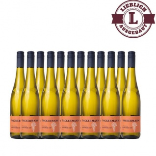 Weißwein Rheinhessen Scheurebe Weingut Dackermann Auslese 108° lieblich (12x 0, 75 l)