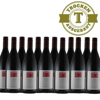 Rotwein Pfalz Qualitätswein Weingut Krieger trocken (12 x 1, 0L)