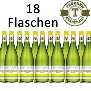 Weißwein Rheinhessen Müller Thurgau trocken (18 x 1, 0l)