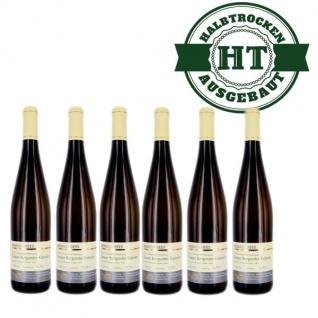 Weißwein Nahe Grauer Burgunder Weingut Roland Mees Kreuznacher Rosenberg Kabinett halbtrocken (6 x 0, 75l)
