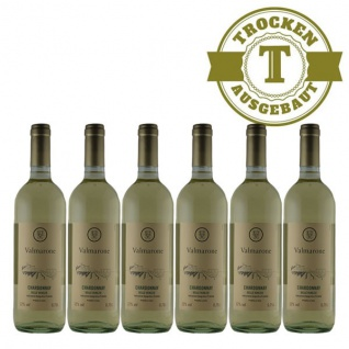 Weißwein Italien Chardonnay trocken (6 x 0, 75l)