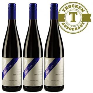 Rotwein Rheinhessen Blauer Portugieser Weingut Dackermann trocken (3 x 0, 75 l)