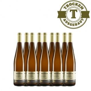 Weißwein Nahe Riesling Weingut Roland Mees Spätlese Paradies trocken (9 x 0, 75l)
