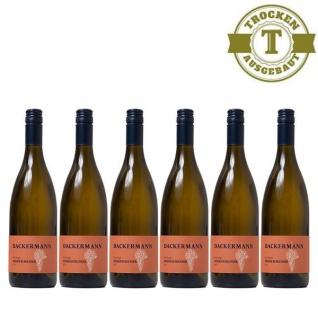Weißwein Rheinhessen Weißer Burgunder Weingut Dackermann Lagenwein Steinbügel trocken ( 6 x 0, 75 l)