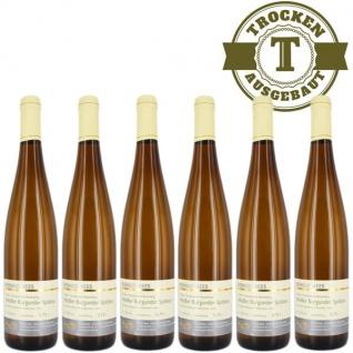 Weißwein Nahe Weißer Burgunder Weingut Roland Mees Kreuznacher Rosenberg Spätlese trocken (6 x 0, 75l)