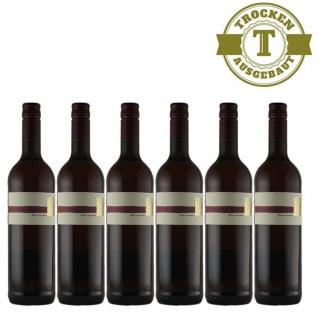 Rosé Pfalz Spätburgunder Weingut Krieger Qualitätswein trocken (6 x 0, 75l)