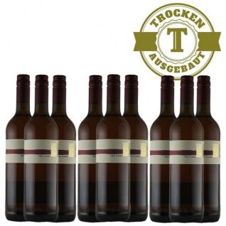 Rotwein Pfalz Spätburgunder Weingut Krieger Qualitätswein trocken (9 x 0, 75l)