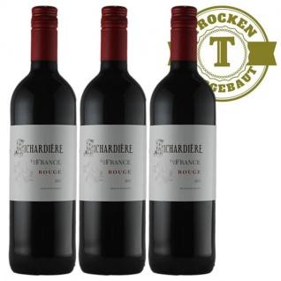 Rotwein Frankreich Vin de France Rouge (3 x 0, 75l)