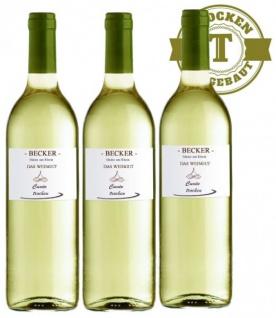 Weißwein Rheinhessen Weingut Becker Weiß & Grau (er) Burgunder trocken (3 x 0, 75 l)