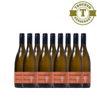 Weißwein Rheinhessen Weißer Burgunder Weingut Dackermann Lagenwein Steinbügel trocken ( 9 x 0, 75 l)