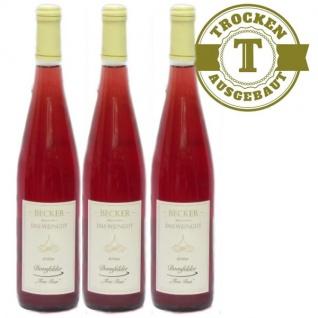 Rosé Rheinhessen Dornfelder Weißherbst Weingut Becker trocken (3 x 0, 75l)