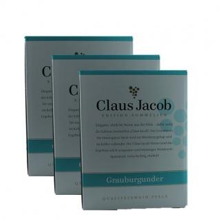 Weißwein Pfalz Grauburgunder Claus Jacob Edition Sommelier Bag in Box trocken (3x5, 0L)