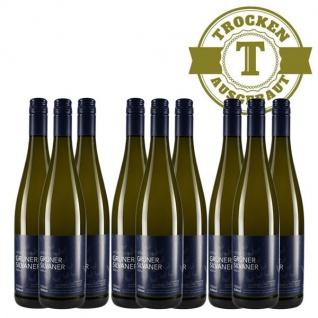 Weißwein Rheinhessen Silvaner Weingut Dackermann Hesslocher Ortswein trocken ( 9 x 0, 75 l)