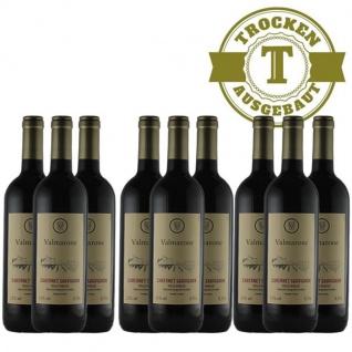Rotwein Italien Cabernet Sauvignon trocken (9 x 0, 75l)