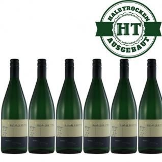 Weißwein Mosel Riesling Weingut Römerkelter Qualitätswein Hausmarke feinherb (6 x 1, 0l)