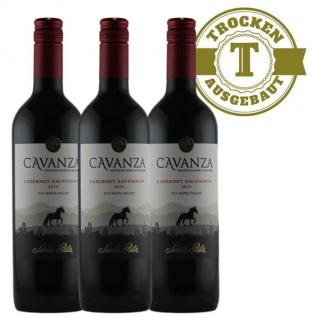 Rotwein Chile Central Valley Cabernet Sauvignon trocken (3x0, 75l)