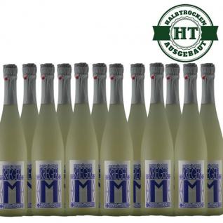 Secco Pfalz Riesling und Kerner Weingut Krieger halbtrocken (12 x 0, 75l)