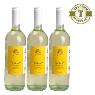Weißwein Italien Trebbiano Rubicone trocken (3x0, 75l)