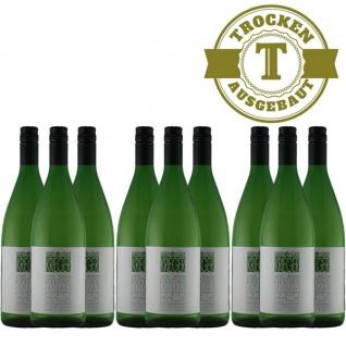 Weißwein Pfalz Riesling Weingut Krieger Rhodter Ordensgut trocken(9x 1, 0 l)