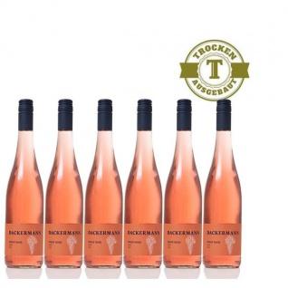 Rosé Rheinhessen Pinot Noir Weingut Dackermann Gutswein trocken ( 6x0, 75l)