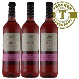 Rosé Spanien Rioja Pueblo Viejo trocken (3 x 0, 75l)