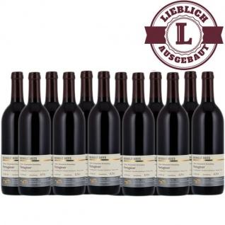 Rotwein Nahe Portugieser Weingut Roland Mees Nahe Kreuznacher Rosenberg lieblich (12 x 0, 75l)