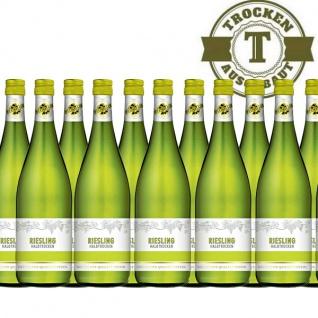 Weißwein Rheinhessen Riesling halbtrocken (12 x 1, 0 l)