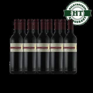 Rotwein Pfalz St. Laurent Weingut Krieger Qualitätswein halbtrocken (9 x 0, 75 l)