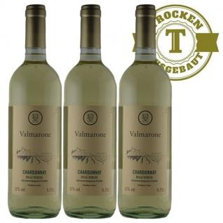 Weißwein Italien Chardonnay trocken (3 x 0, 75l)