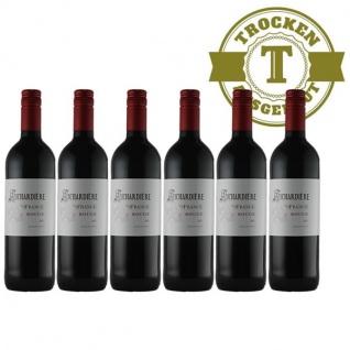 Rotwein Frankreich Vin de France Rouge(6 x 0, 75l)